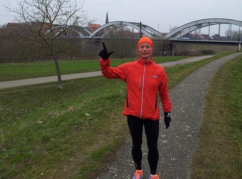 06.03.2013 - 34 km Trainingslauf - und nur noch 2 Wochen bis zum Marathon