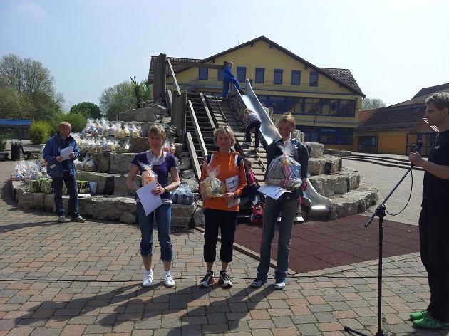 Siegerehrung Frühlingslauf St. Leon-Rot am 05. Mai 2013