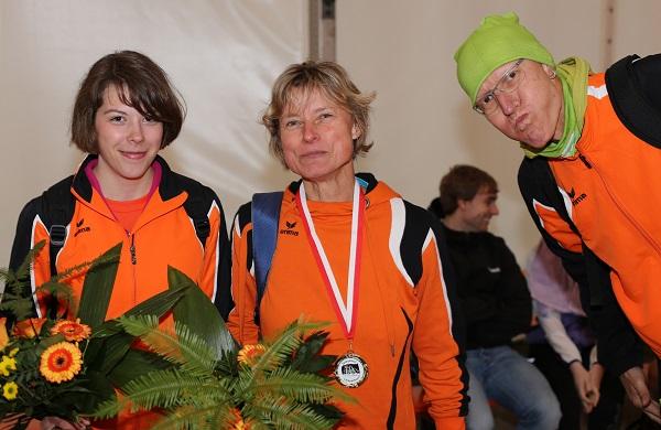 2. Platz WJ U20 10 km / 1. Platz Gesamt Damen 5 km / 3. Platz M50 5 km