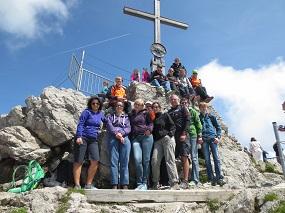 Auf dem Gipfel vom Nebelhorn