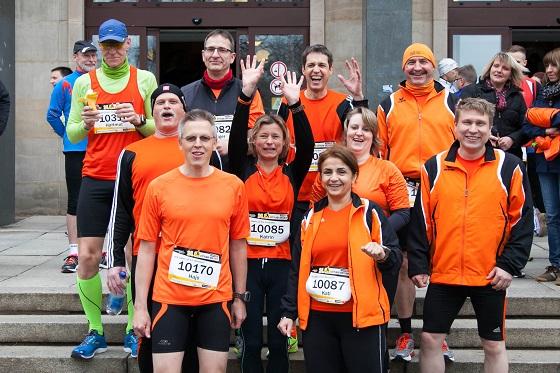 Unsere Starter beim Citylauf in Dresden